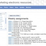 Marketing e-resources